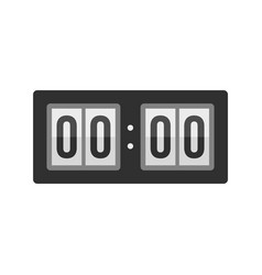scoreboard icon flat style vector image