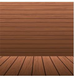 Wooden planks background vector