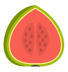 watermelon icon isolated vector image