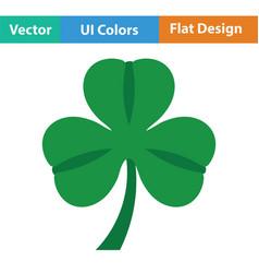Shamrock icon vector