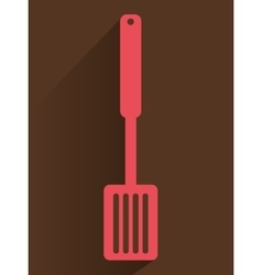 Kitchen utensils and equipment icon vector