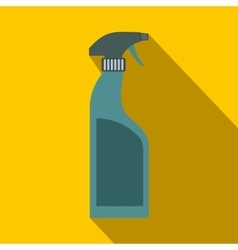 Sprayer bottle flat vector