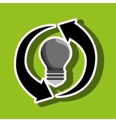 Renewable energy isolated icon design vector