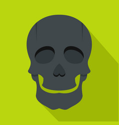 Singer mask icon flat style vector