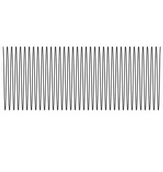 sound wave of equal level sound wave sign sound vector image vector image