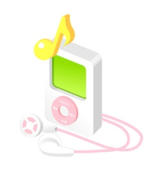 Icon mp3 vector