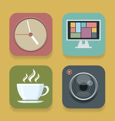 app vector image vector image