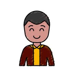 Cartoon businessman icon vector
