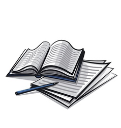 study vector image vector image