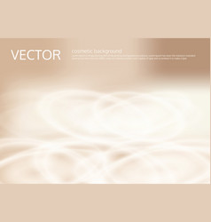 Abstract light beige background with silver vector