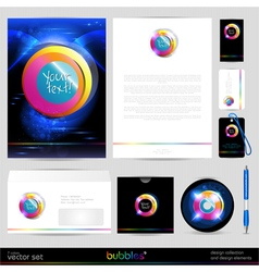 Template background design elements vector
