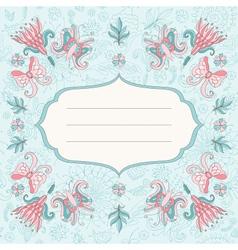 Beautiful holiday card vector