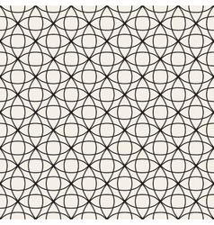 Circle overlapping line lattice seamless vector