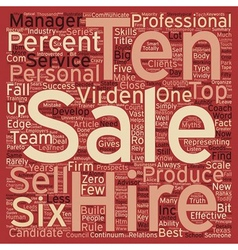 Hire a six text background wordcloud concept vector