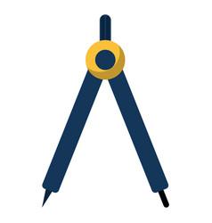 Compass geometry school image vector