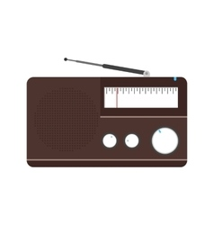 Radio  sound vector