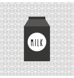Dairy products design vector