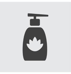 Liquid soap icon vector