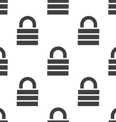 lock seamless pattern vector image vector image