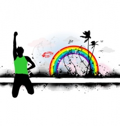 summer dreams illustration vector image