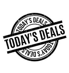 Today s deals rubber stamp vector