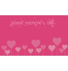Many love backgrounds valentine day vector