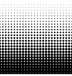 Halftone black vector