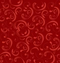 abstract swirl pattern vector image vector image