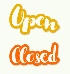 Closed inscription vector