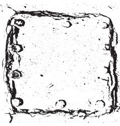 Frame cracked vector