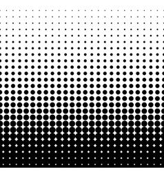Halftone black vector