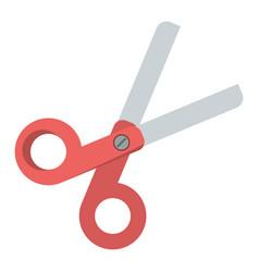 scissors school utensil icon vector image vector image