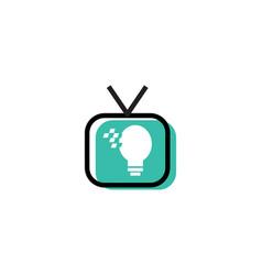 Smart tv logo vector