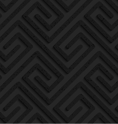 Black textured plastic rectangle spirals fastened vector