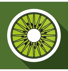 Kiwi icon design vector