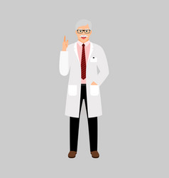 Andrologist medical specialist vector