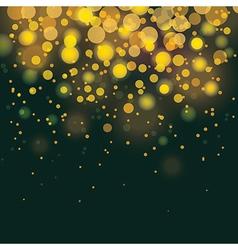 Bokeh festive background vector