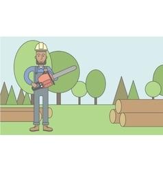 Lumber-man vector