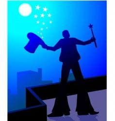magic men vector image