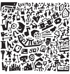 Music - doodles set vector image