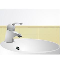 Wash-hand basin vector