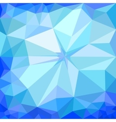 Winter blue ice background vector