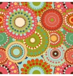 Seamless pattern spring baby with bright colorful vector