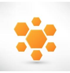Honey icon isolated on white vector