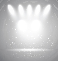 spotlight display background 2208 vector image vector image