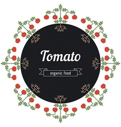 Tomato vegetables vector image vector image