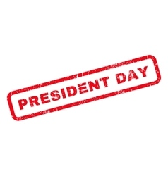 President day rubber stamp vector