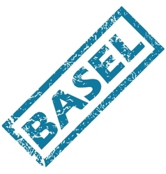 Basel rubber stamp vector