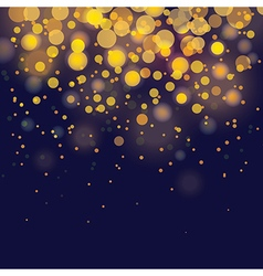 Bokeh festive background vector