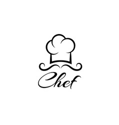chef design template vector image